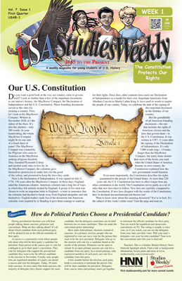 Social Studies Weekly and Scholastic News - Marshpoint ...